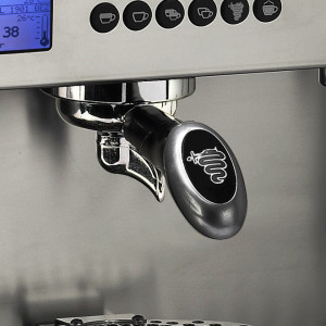 commercial coffee machine Sydney control panel