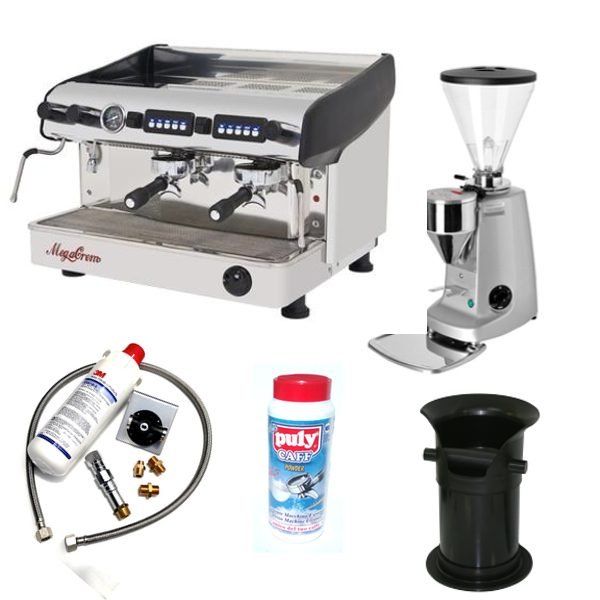 expobar mazzer commercial coffee machine package