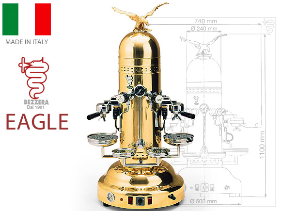 Best commercial coffee machine Bezzera Eagle