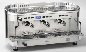 ex demonstrator commercial coffee machines ellisse 3 group
