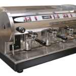 reconditioned 3 group coffee machine