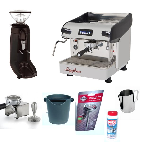 commercial coffee machine package