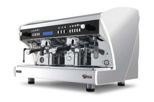 wega polaris commercial coffee machine Australia silver 2g